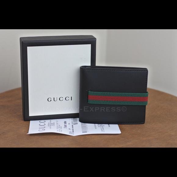 8b095ba1a255 Gucci Bags | Elastic Mens Wallet Signature | Poshmark